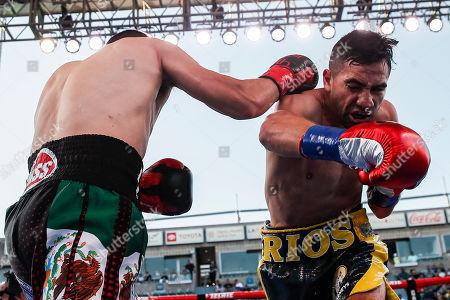 Editorial image of Ronny Rios vs. Diego de la Hoya, Carson, USA - 13 Jul 2019