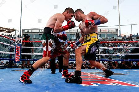 Editorial picture of Ronny Rios vs. Diego de la Hoya, Carson, USA - 13 Jul 2019