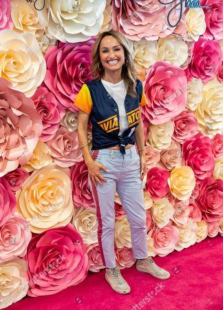 Editorial photo of Giada De Laurentiis hosts Ballpark Tasting Event, Las Vegas Ballpark, Las Vegas, USA - 13 Jul 2019