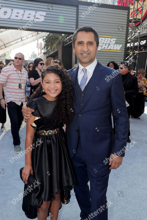 Eliana Su'a and Cliff Curtis seen at Universal Pictures World Premiere of FAST & FURIOUS PRESENTS: HOBBS & SHAW at the Dolby Theater in Hollywood, CA on Saturday, July 13th, 2019.