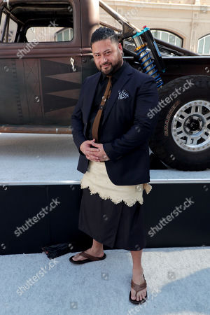 Stock Picture of John Tui seen at Universal Pictures World Premiere of FAST & FURIOUS PRESENTS: HOBBS & SHAW at the Dolby Theater in Hollywood, CA on Saturday, July 13th, 2019.