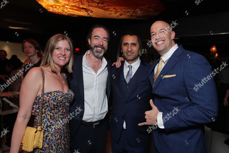Ainsley Davies, Executive Producer, Chris Morgan, Writer/Producer, Cliff Curtis and Hiram Garcia, Producer, seen at Universal Pictures World Premiere of FAST & FURIOUS PRESENTS: HOBBS & SHAW in Hollywood, CA on Saturday, July 13th, 2019.