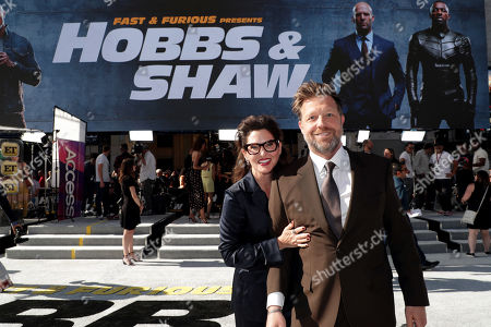 Kelly McCormick, Executive Producer, and David Leitch, Director, seen at Universal Pictures World Premiere of FAST & FURIOUS PRESENTS: HOBBS & SHAW at the Dolby Theater in Hollywood, CA on Saturday, July 13th, 2019.