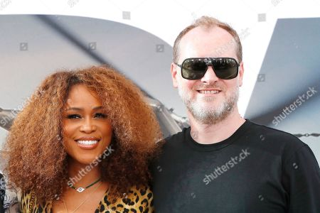 US rapper/actress Eve (L) and her husband Maximillion Cooper (R) arrive for the world premiere of 'Fast and Furious presents Hobbs and Shaw' at the Dolby Theatre in Hollywood, Los Angeles, California, USA, 13 July 2019. The movie will be released in the US on 02 August 2019.