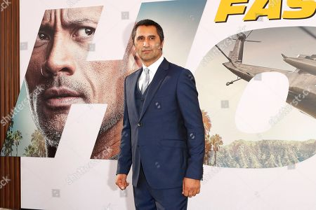 Cliff Curtis arrives for the world premiere of 'Fast and Furious presents Hobbs and Shaw' at the Dolby Theatre in Hollywood, Los Angeles, California, USA, 13 July 2019. The movie will be released in the US on 02 August 2019.