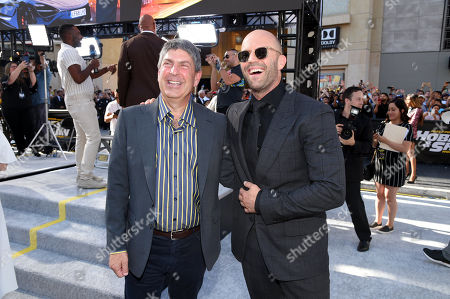 Jeff Shell, Chairman of NBCUniversal Film and Entertainment, and Jason Statham