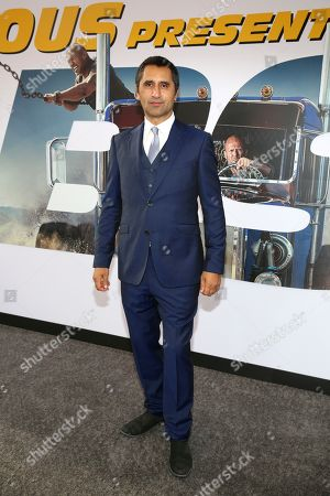 Cliff Curtis is seen at Universal Pictures World Premiere of FAST & FURIOUS PRESENTS: HOBBS & SHAW at the Dolby Theater on Saturday, July 13th, 2019, in Hollywood, Calif