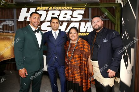 Editorial picture of Universal Pictures World Premiere of FAST & FURIOUS PRESENTS: HOBBS & SHAW, Hollywood, USA - 13 Jul 2019