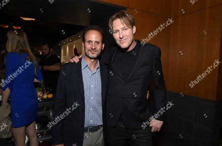 Mike Knobloch, President of Film Music and Publishing for Universal Pictures, and Tyler Bates, Composer