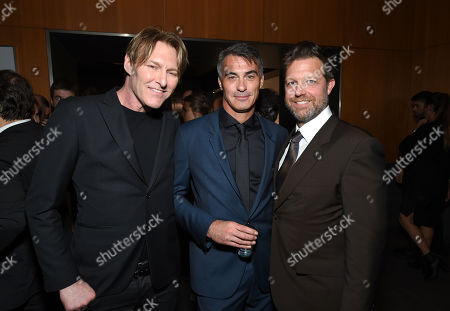 Stock Image of Tyler Bates, Composer, Chad Stahelski and David Leitch, Director