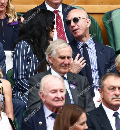 Editorial picture of Wimbledon Tennis Championships, Day 13, The All England Lawn Tennis and Croquet Club, London, UK - 14 Jul 2019