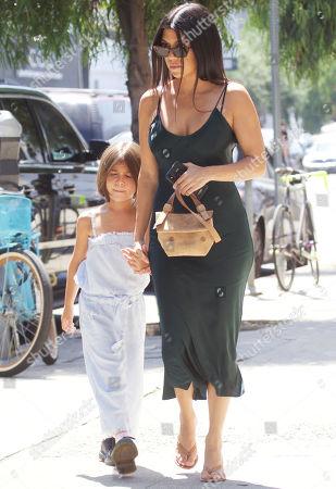 Stock Image of Kourtney Kardashian, Penelope Disick