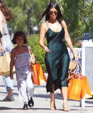 Editorial photo of Kourtney Kardashian out and about, Los Angeles, USA - 13 Jul 2019