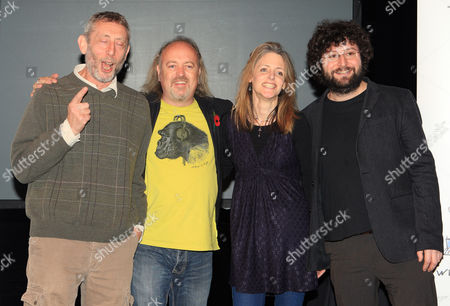 Michael Rosen, Bill Bailey, Louise Rennisson and Andy Stanton