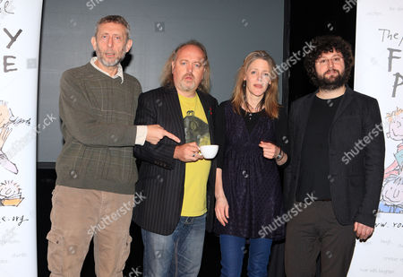 Stock Picture of Michael Rosen, Bill Bailey  Louise Rennison and Andy Stanton