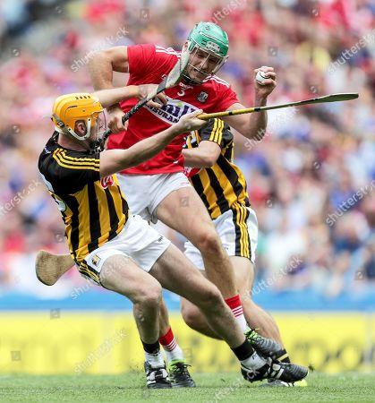 Kilkenny vs Cork. Cork's Eoin Cadogan and Billy Ryan of Kilkenny