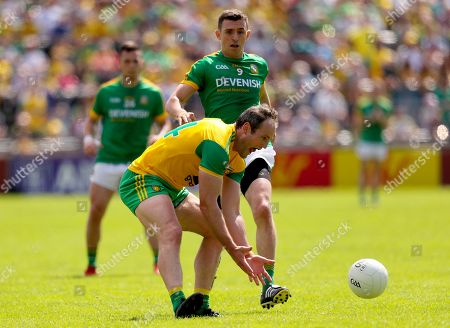 Donegal vs Meath. Meath's Shane McEntee with Michael Murphy of Donegal