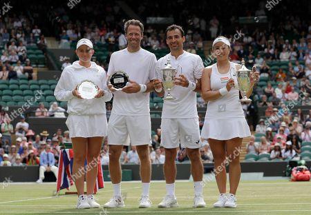 Editorial image of Wimbledon Tennis, London, United Kingdom - 14 Jul 2019