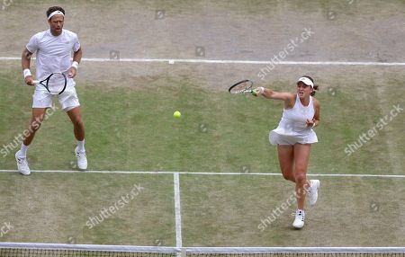 Editorial picture of Wimbledon Tennis, London, United Kingdom - 14 Jul 2019