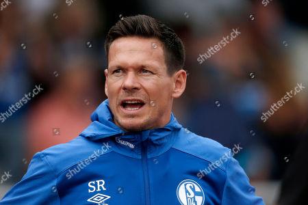 Bottrop , Germany, pre season friendly,  Stadtauswahl Bottrop vs. FC Schalke 04  1-2012 .07. 2019  Jahnstadium  in Bottrop Sascha RIETHER (S04)