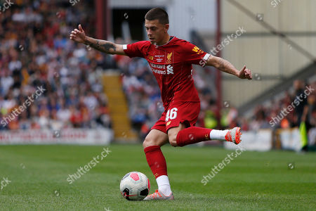 Liverpool's Adam Lewis during the Pre-Season Friendly match between Bradford City and Liverpool at the Northern Commercials Stadium, Bradford