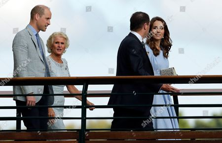 Wimbledon Tennis Championships Celebrities Stock Photos (Exclusive