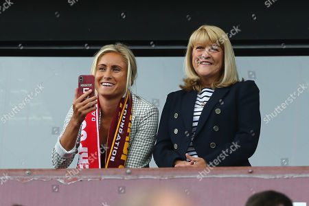 England captain Steph Houghton in the crowd
