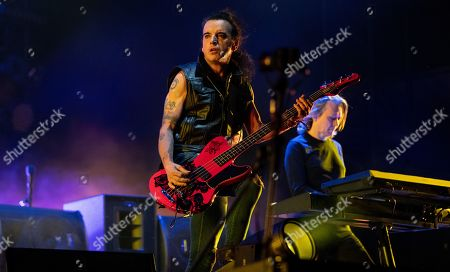 The Cure - Simon Gallup and Roger O'Donnell