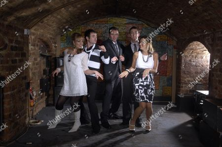 Fashion Shoot at the Cavern Club Picture shows - Lisa Kay, Joe McFadden, Rupert Ward Lewis, Steven Blakeley and Tricia Penrose