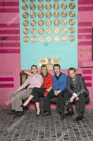 Fashion Shoot at the Cavern Club Picture shows - Steven Blakeley, Lisa Kay, Joe McFadden and Rupert Ward Lewis