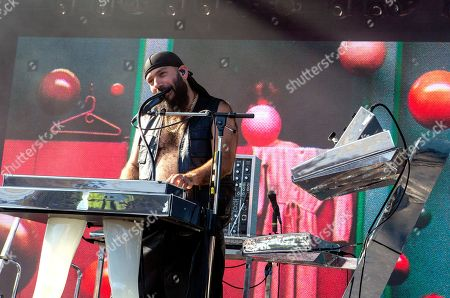 Stock Photo of Chromeo - Patrick Gemaye (P-Thugg)