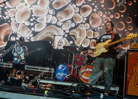 Stock Photo of 'Portugal. The Man' - John Baldwin Gourley, Jason Sechrist and Zachary Scott Carothers