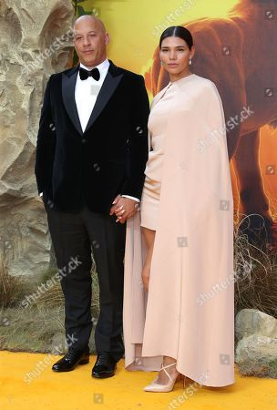 Vin Diesel and wife Paloma Jimenez