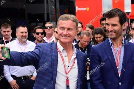 14.07.2019, Silverstone Circuit, Silverstone, FORMULA 1 ROLEX BRITISH GRAND PRIX 2019  ,  David Coulthardt, Mark Webber