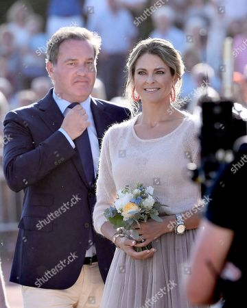 Chris O'Neill and Princess Madeleine