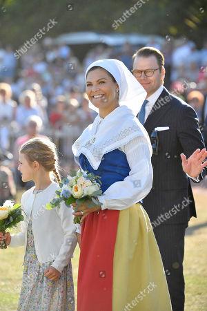 Princess Estelle, Crown Princess Victoria, Prince Daniel