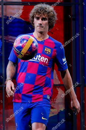 Antoine Griezmann Presentation Barcelona Stock Photos
