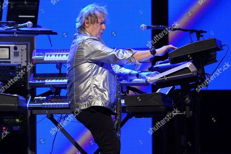 "Stock Photo of Geoff Downes, Ron ""Bumblefoot"" Thal, Carl Palmer and Billy Sherwood"
