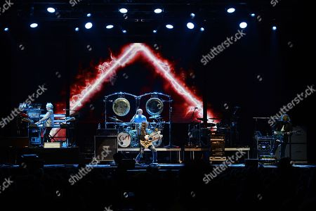 "Stock Picture of Geoff Downes, Ron ""Bumblefoot"" Thal, Carl Palmer and Billy Sherwood"
