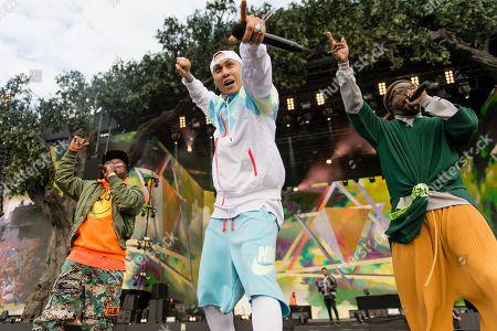 The Black Eyed Peas - will i am (William Adams), apl.de.ap (Allan Pineda Lindo), Taboo (Jaime Luis Gomez)