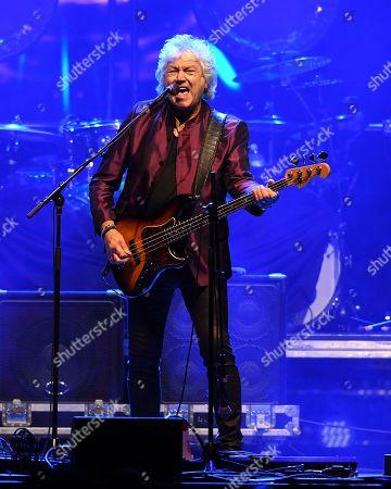 Editorial picture of John Lodge in concert, Seminole Hard Rock Hotel and Casino, Florida, USA - 13 Jul 2019