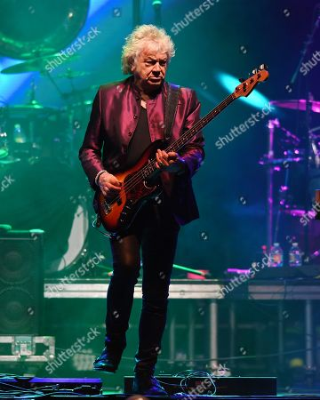 Editorial photo of John Lodge in concert, Seminole Hard Rock Hotel and Casino, Florida, USA - 13 Jul 2019