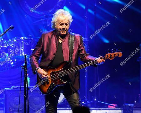Editorial image of John Lodge in concert, Seminole Hard Rock Hotel and Casino, Florida, USA - 13 Jul 2019