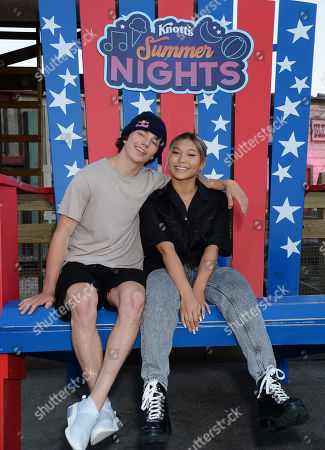 Editorial picture of Knott's Summer Nights, Los Angeles, USA - 14 Jul 2019