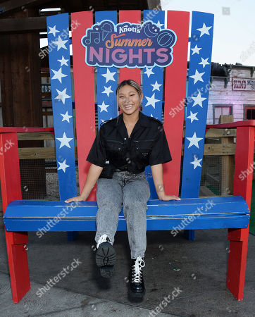 Editorial image of Knott's Summer Nights, Los Angeles, USA - 14 Jul 2019