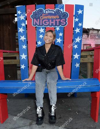 Stock Picture of Chloe Kim