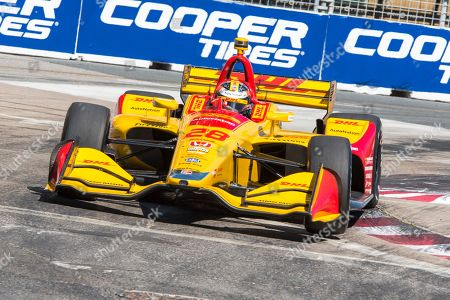 Ryan Hunter-Reay during the race