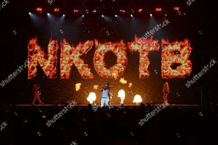 Editorial image of New Kids On The Block in concert, Sunrise, USA - 14 Jul 2019