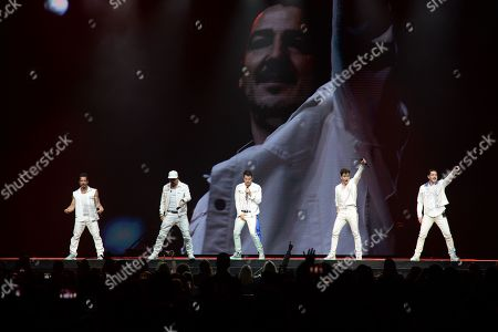 Editorial picture of New Kids On The Block in concert, Sunrise, USA - 14 Jul 2019