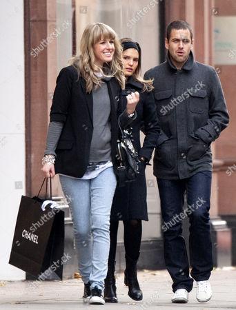 Lisa Roughead and Joe Cole with wife Carly Zucker